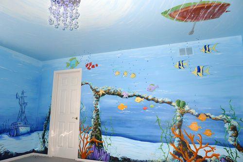 Underwater-sunken-ship-boys-mural