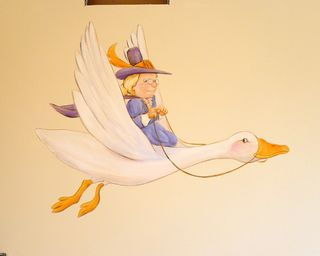 Mother-goose-nursery-mural