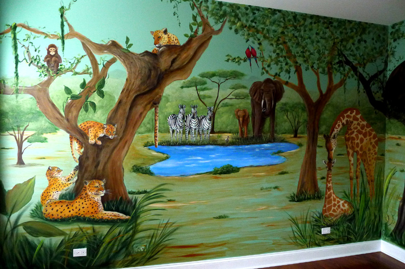 Jungle Murals For Nursery ~ TheNurseries