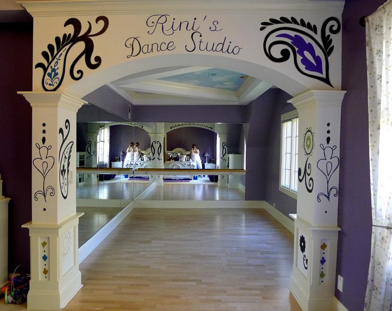 Art Ideas by Debbie Cerone: Dance Studio Murals