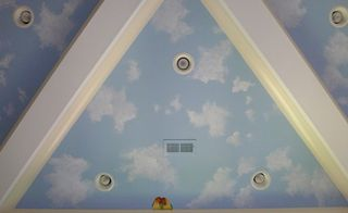 sky-mural-Clouds-lovebirds