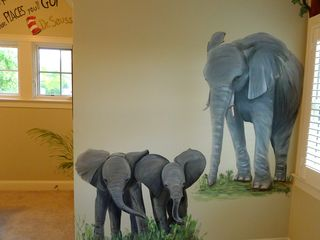 Safari-jungle-elephant-mural
