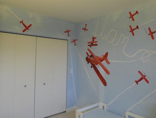 vintage-plane-mural