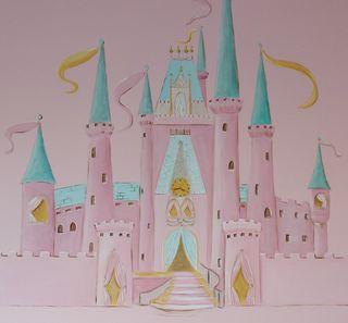 Pink-cinderella-castle