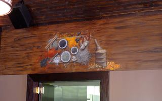 Indian-gardens-restaurant-mural-spices