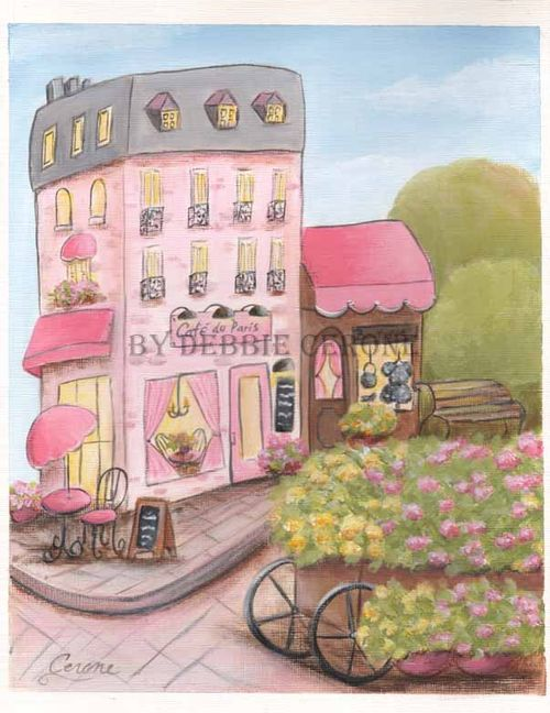 Paris-cafe-pink-print
