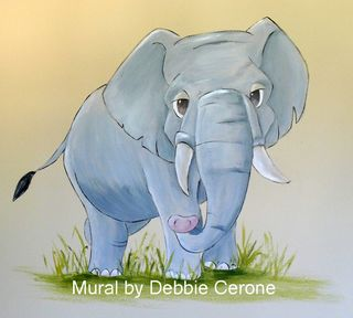 Elephant-mural-baby-nursery
