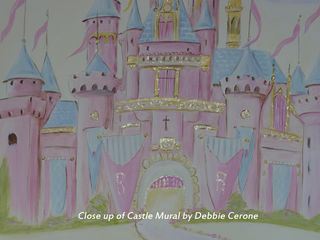 Castle-mural-close-up-glitter-pink-disney-castle