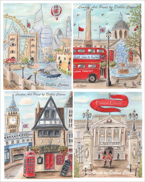 London-boy-set-4-personalized-art-prints