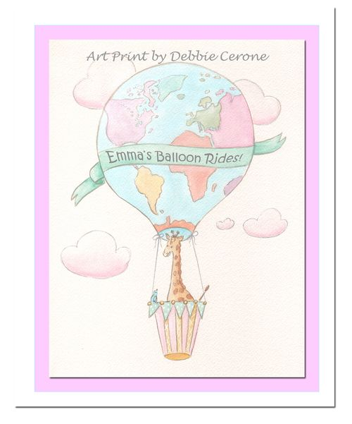 Balloon-giraffe-personalized