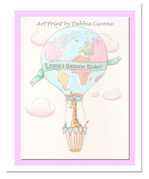 Balloon-giraffe-personalized