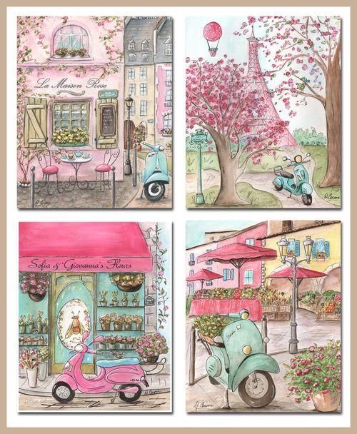 1-Paris-vespas-Paris-set-etsy