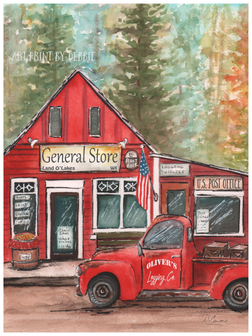 Lumberjack-general-store-print-Land-O