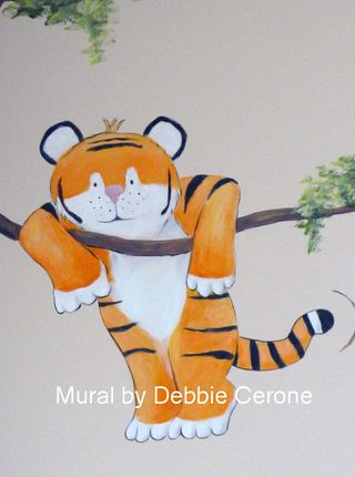 Tiger-jungle-mural