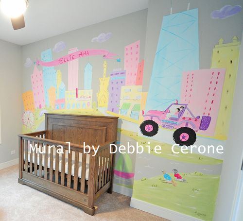 Chicago-skyline-girl-pink-jeep-family-dogs