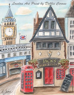 London-fish-chips-paddington-station-big-ben-personalized-570