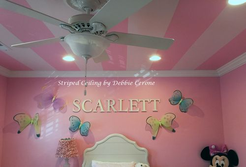 Striped-ceiling-pink