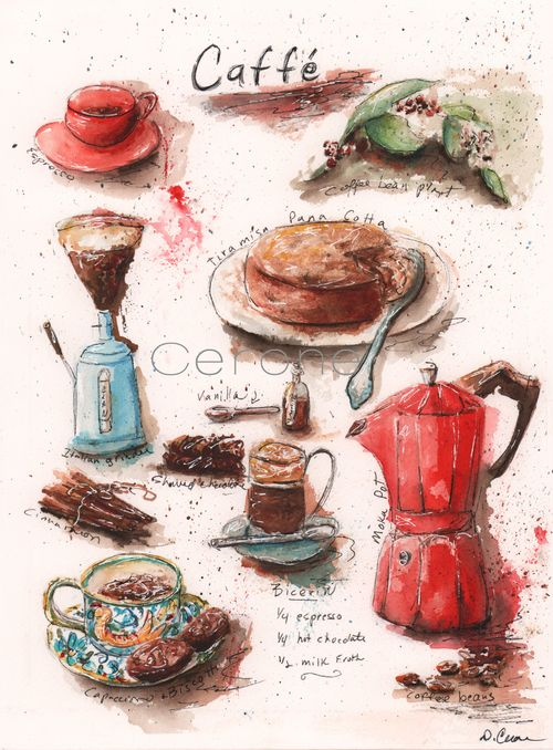 Italian-coffee-poster-print-by-Debbie-Cerone