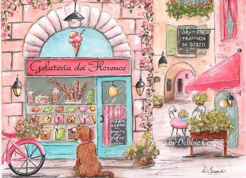 Gelato-florence