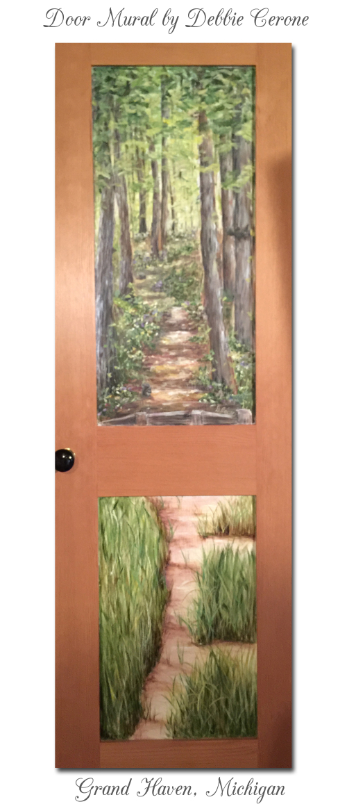 Grand-haven-michigan-full-door-mural-wooded-dunes_title