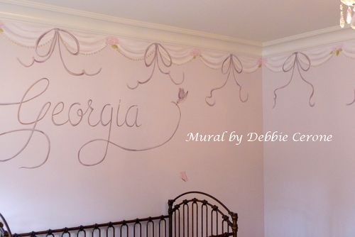 Girl-nursery-name-ribbons-birds-scallops-flowers-butterflies