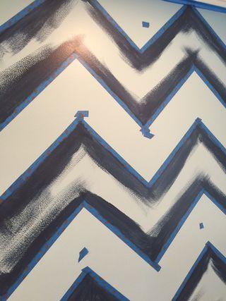 Chevron-painted-edges