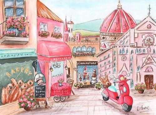 Florence-street-scene