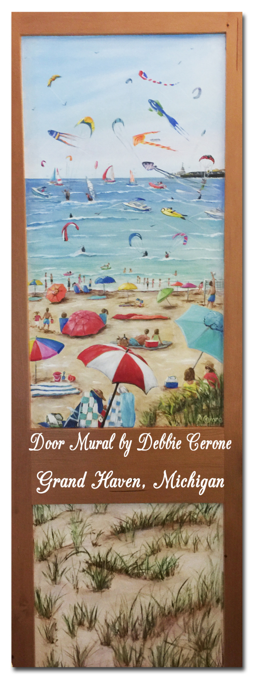 Grand-haven-michigan-beach-door-mural-title