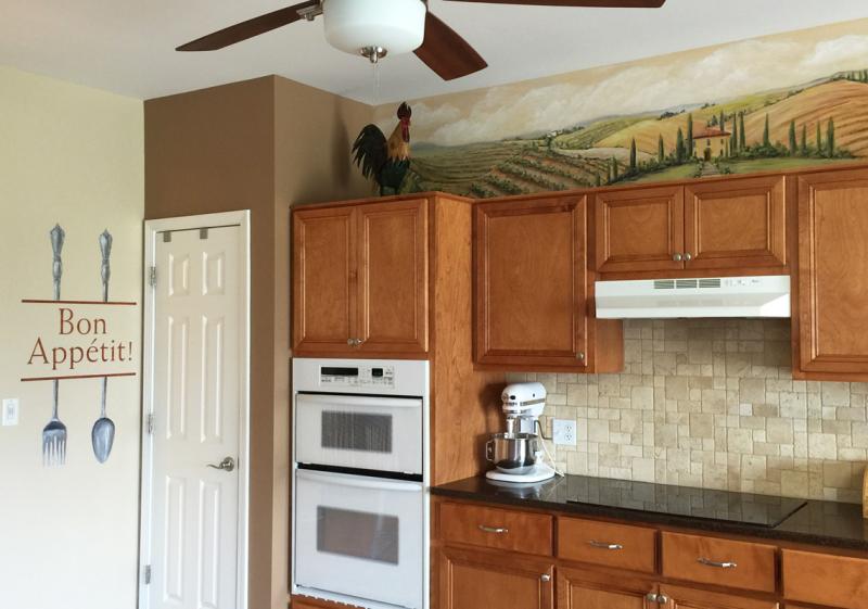 Kitchen-stencil