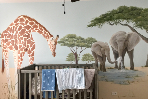 safari-nursery-giraffe-elephants